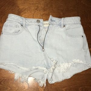Pacsun Highrise Shortie
